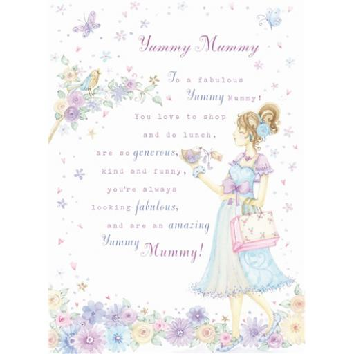 Sentiments Card - Yummy Mummy
