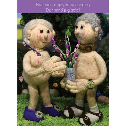 Nudinits Card - Gladioli