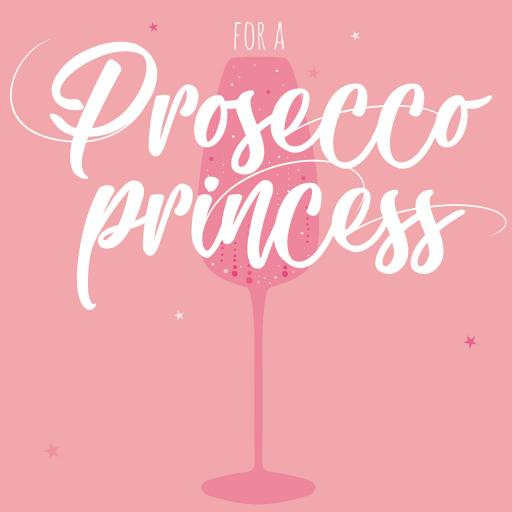 Cheers Card Collection - Prosecco Princess