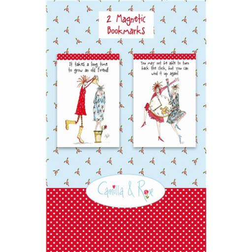 Camilla & Rose Stationery - Magnetic Bookmarks