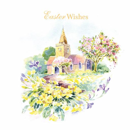 Easter Card Pack - Springtime Church