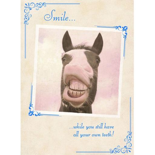 What A Hoot Card - Smile....Teeth