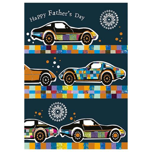 Fathers Day Card - Fathers Day Cars