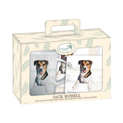 Tea Time Gift Set - Jack Russell