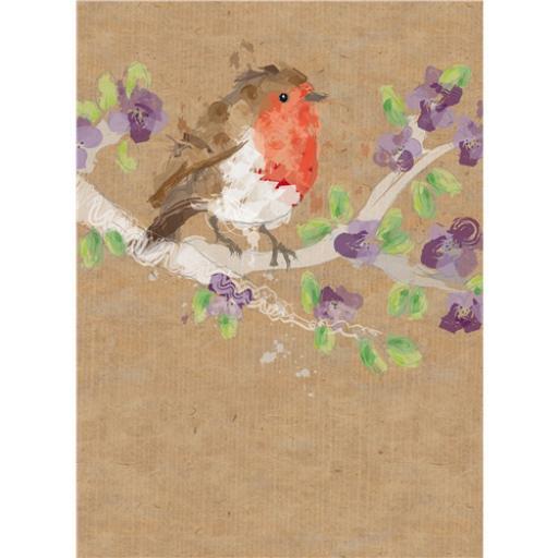 RSPB Card - Robin