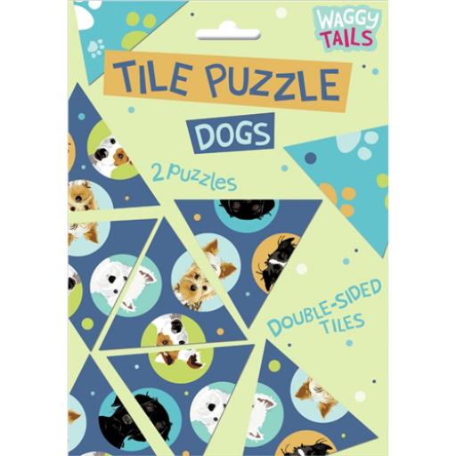 Brainteasers - Tile Puzzle - Dogs