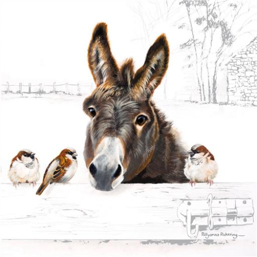 Countryside Collection Card - Donkey