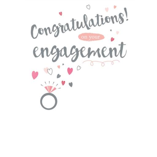 Engagement Card - Congratulations