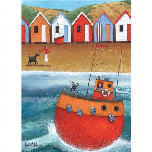 Peter Adderley Stationery - Notecard Pack A Walk On The Beach