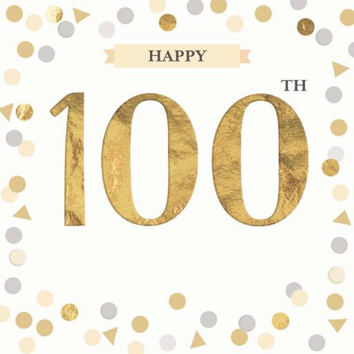 Age To Celebrate Card - 100