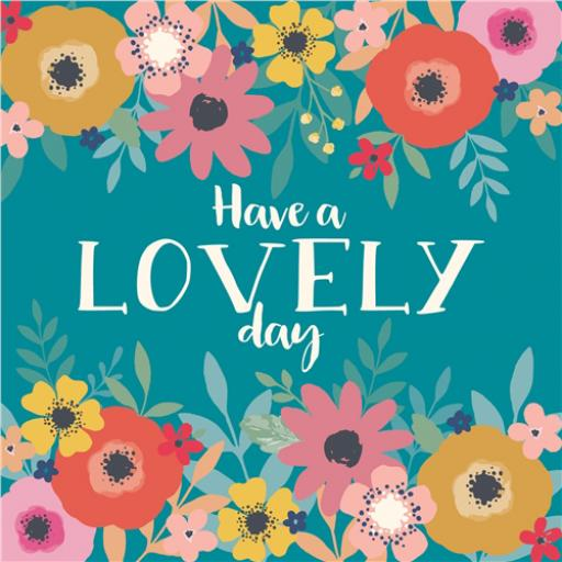 Flower Crown Card Collection - Lovely Day