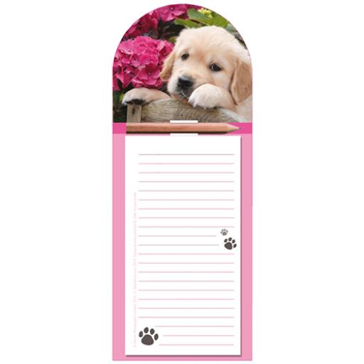 Magnetic Memo Pad - Cute Pup