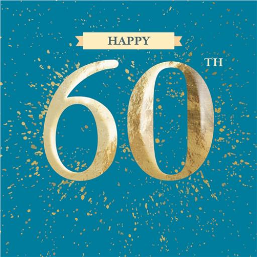 Age To Celebrate Card - 60