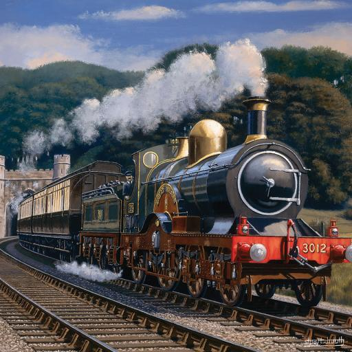 Quayside Gallery Card Collection - Making Steam