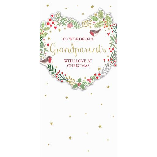 Christmas Card (Single) - Grandparents
