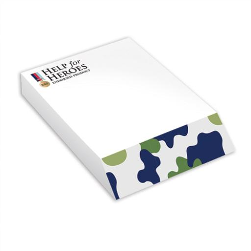 Help For Heroes Stationery - Slant Pad