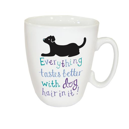 Curved Mug - Dog Hair