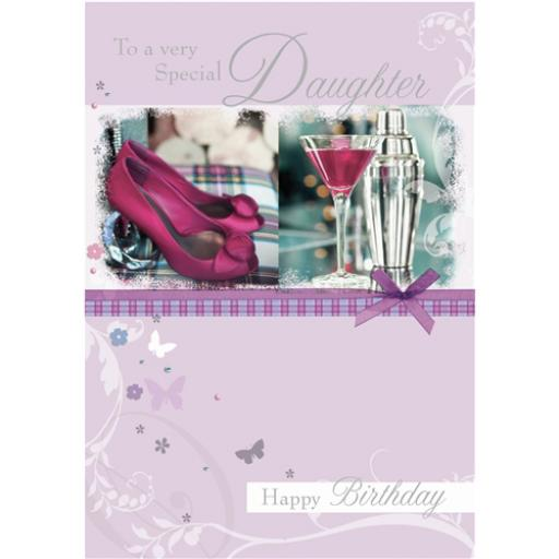 Family Circle Card - Very Special Daughter