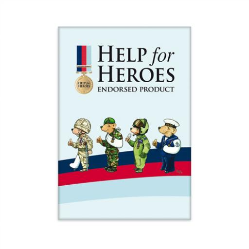 Help For Heroes Magnet - Bears