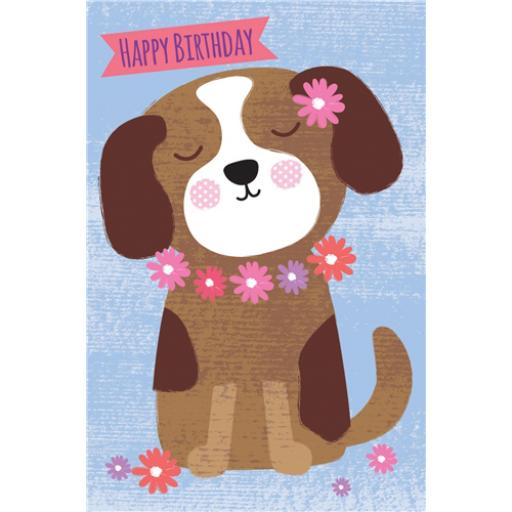 Dinkies Mini Card - Coco The Puppy