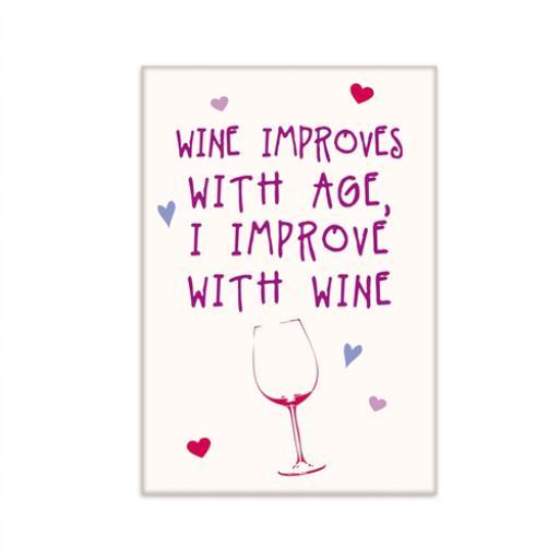 Fridge Magnet - Wine
