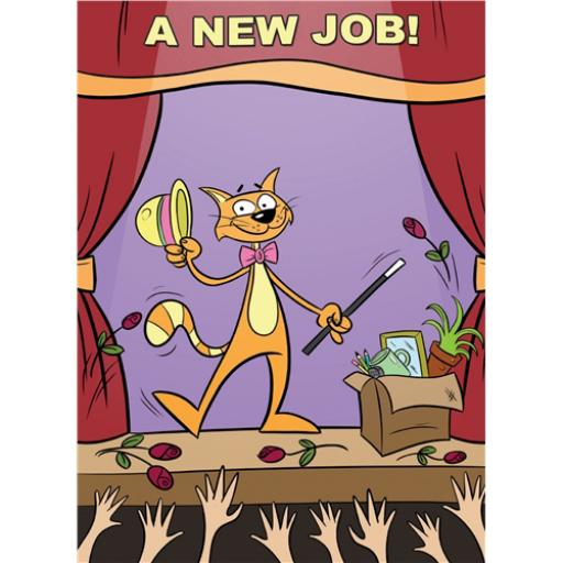 Congratulations Card - A New Job