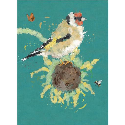RSPB Card - Goldfinch