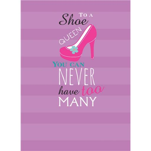 A Way With Words Card - Shoe Queen