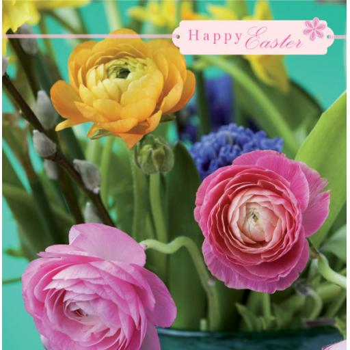 Easter Card Pack - Mixed Flowers