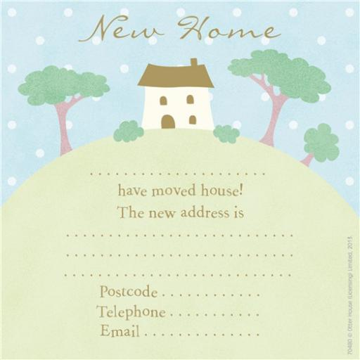 Social Stationery - New Home Announcement (New Home)