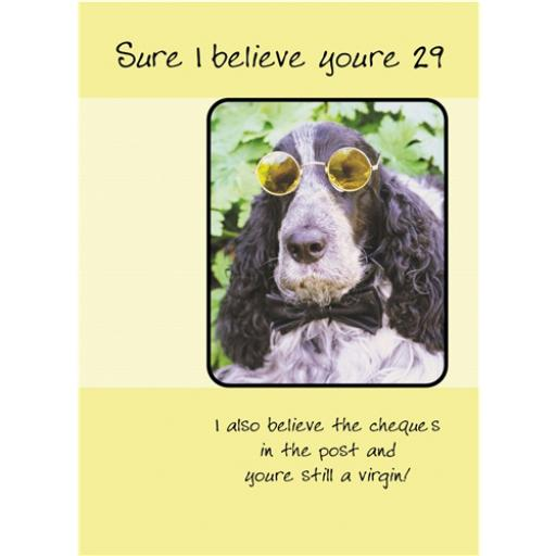 What A Hoot Card - Imagine Dog