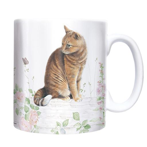 Straight Sided Mug - Ginger Cat