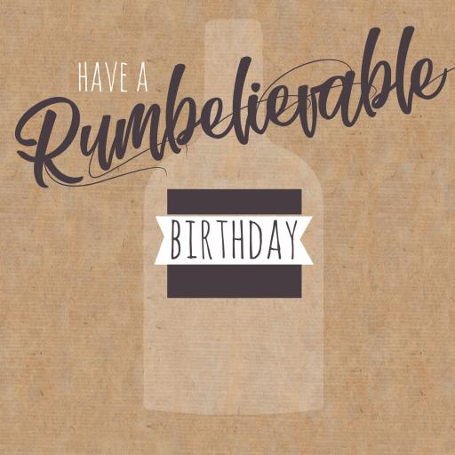 Cheers Card Collection - Rumbelievable