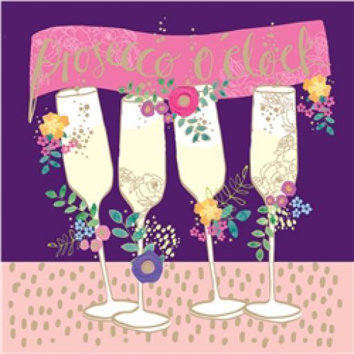 Rose Gold Card - Fizzy Celebrations