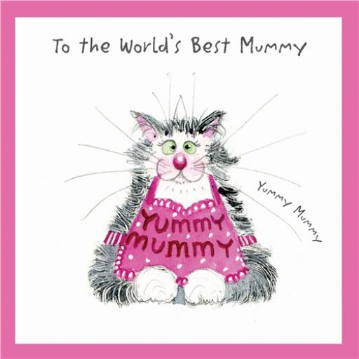 Ann Edwards Card - Yummy Mummy