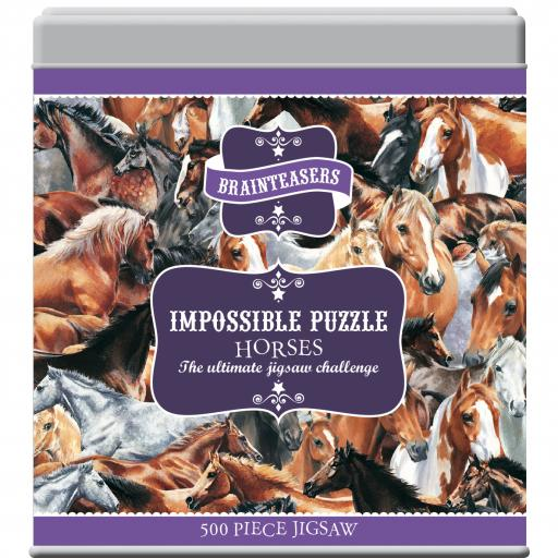 Impossible Puzzle - Horses