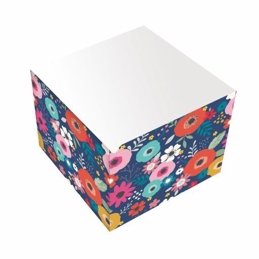 Bohemia Stationery - Jotter Block - Flowers