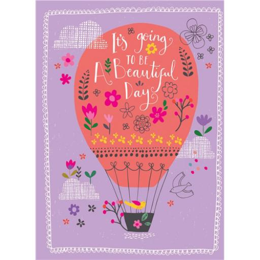 Marie Curie Card (Range 2) - Beautiful Balloon