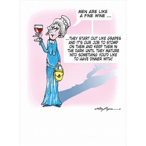 The Wine Buffs Collection - Men Are Like A Fine Wine
