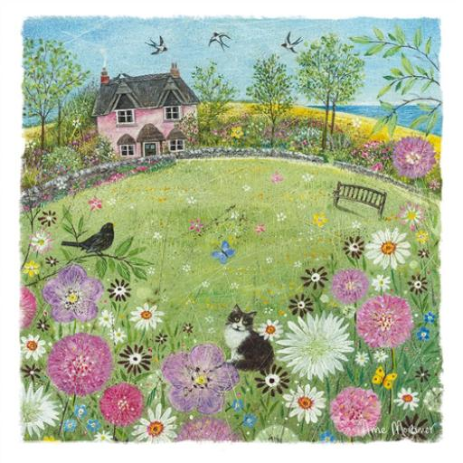 Country Lanes Card - The Pink Cottage