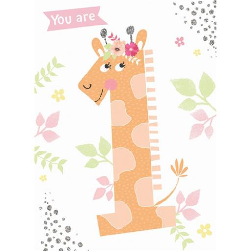 Rainbow Pops Card Collection - Giraffe (Age 1)