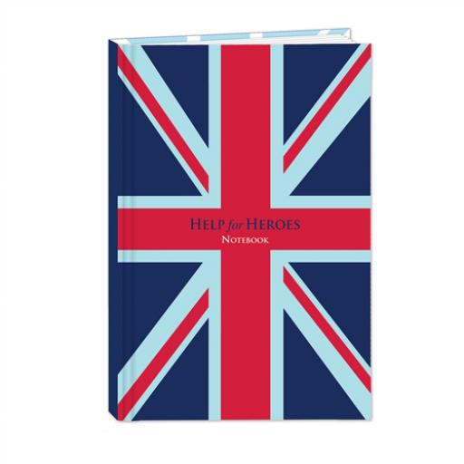 Help For Heroes Stationery - Hardcover Notebook (A4)