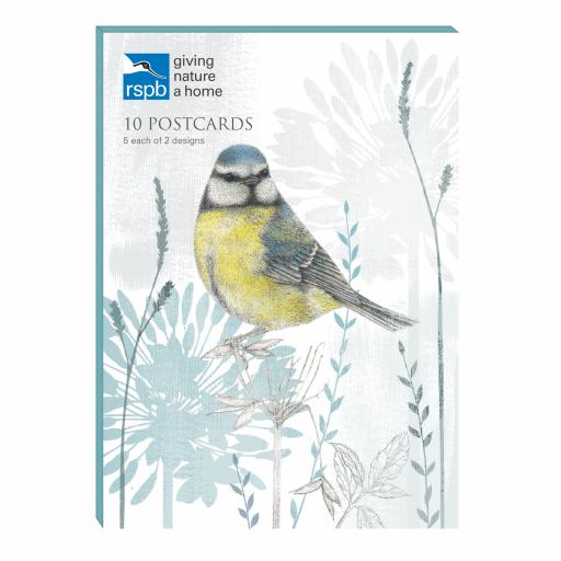 RSPB - Postcard Wallet (Blue Tit)