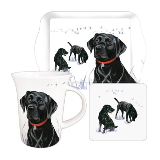 Tea Time Gift Set - Black Labrador Loyal Friends