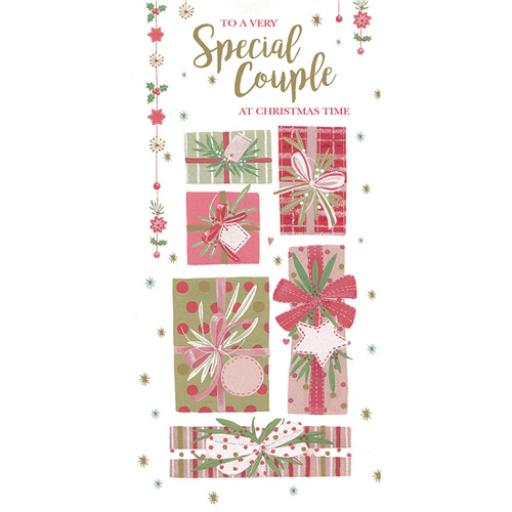 Christmas Card (Single) - Special Couple - Presents