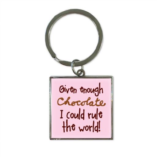 Key Ring - Chocolate