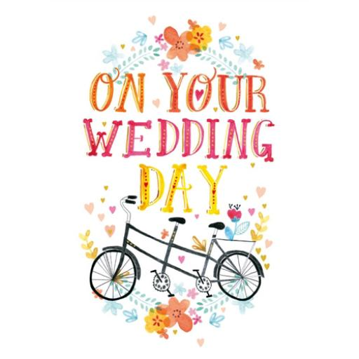 Wedding Card - Vintage Bicycle