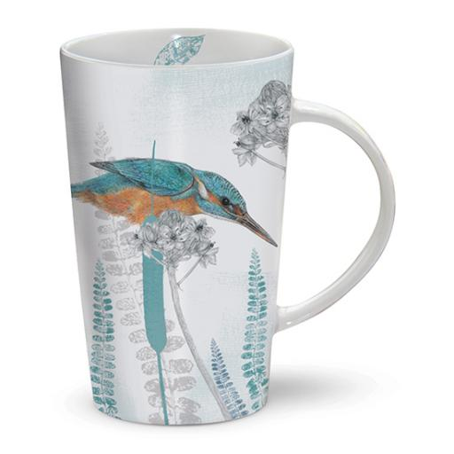 Latte Mug - RSPB Kingfisher