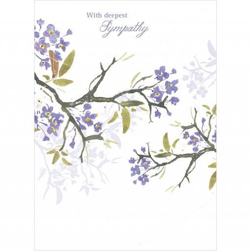 Sympathy Card - Blossom