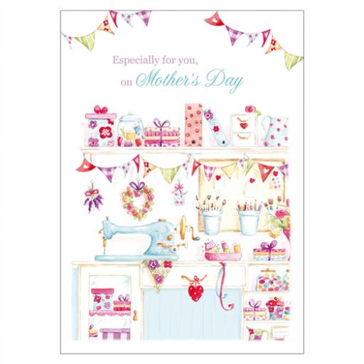 Mother's Day Card - Stitch & Sew
